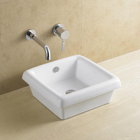 China Wholesale Top Mount Single Bowl Bathroom Sink China Bathroom Basin Sink