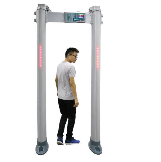 China Gate Type Full Body Door Frame Metal Detector Scanner - China ...