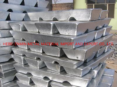 Customize Lead Alloy Ingot Used for Casting Fishing Sinker with Wholesale Price
