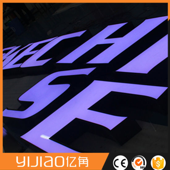 Factory Handmade LED Channel Letter Storefront Signs Custom LED Signs  Outdoor