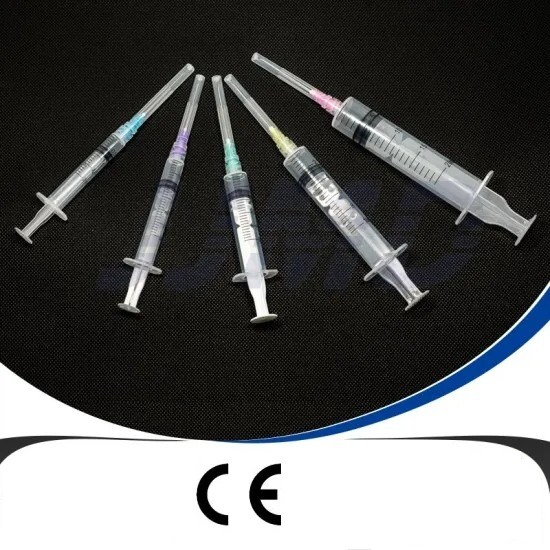 Auto-Destroy Syringe with Back Lock with Ce