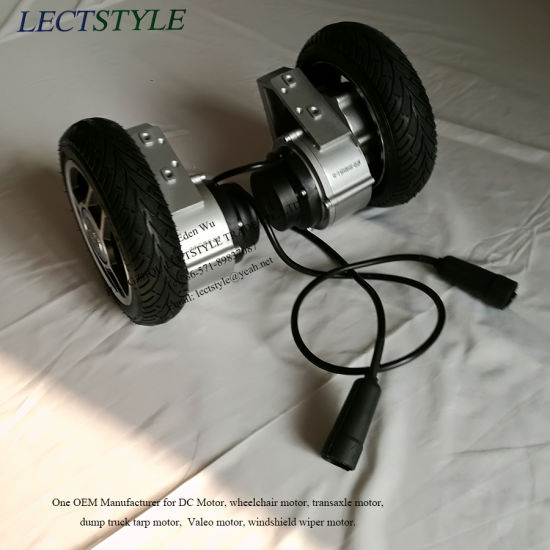 China Brushless DC Wheelchair Hub Motor with Controller