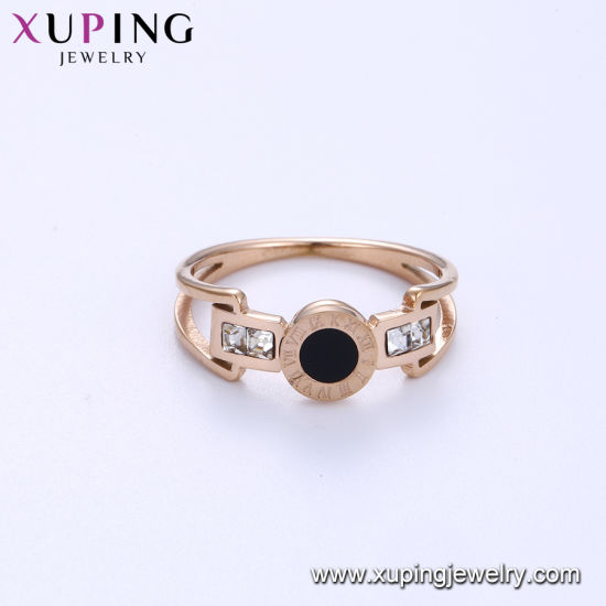 15120 Xuping Fashion Engagement 24K Gold Plated Exquisite Gemstone Ring pictures & photos