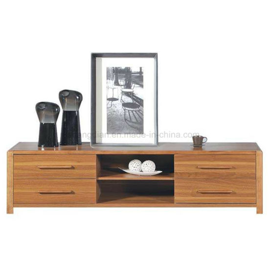 Modern Wooden Design Hotel Living Room TV Cabinet (ST-03) pictures & photos
