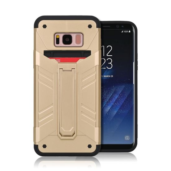 Rugged Hybrid Rubber Protective Hard Case Cover for Samsung S8 Plus pictures & photos