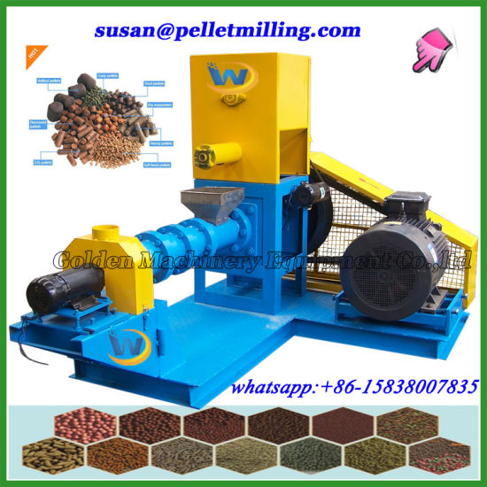 500-600kg\H Floating Pellet Fish Food Feed Pellet Making Machine pictures & photos