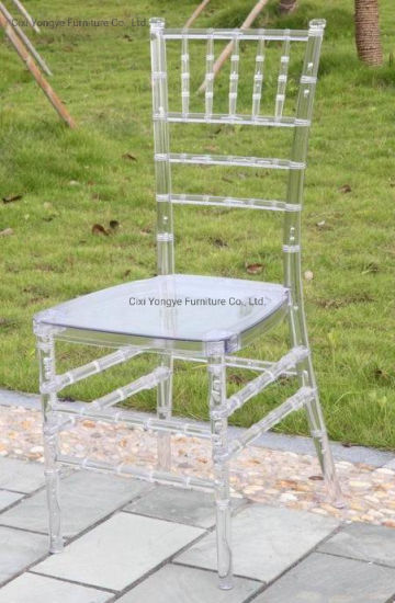 Factory Direct Resin Plastic Chiavari Chair for Banquet pictures & photos
