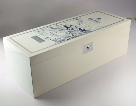Luxury White Gloss Wooden Wine Box pictures & photos
