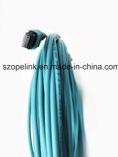 Fiber Optic Data Transmission MPO/MPO Fiber Optic Patch Cord for Optical CATV pictures & photos