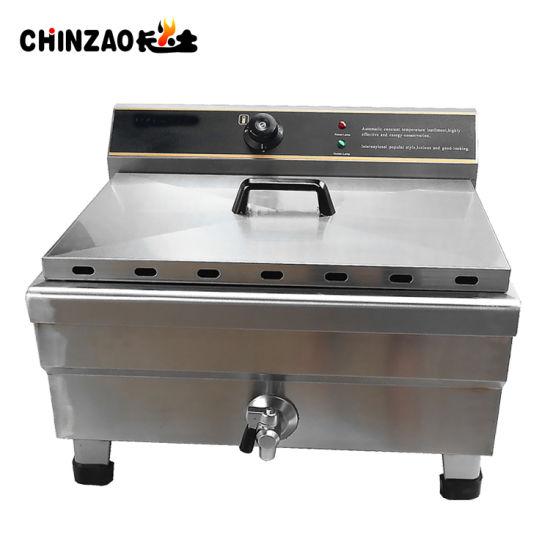 30L Electric Countertop Deep Fryer  Commercial Restaurant Meat w// Timer Drain