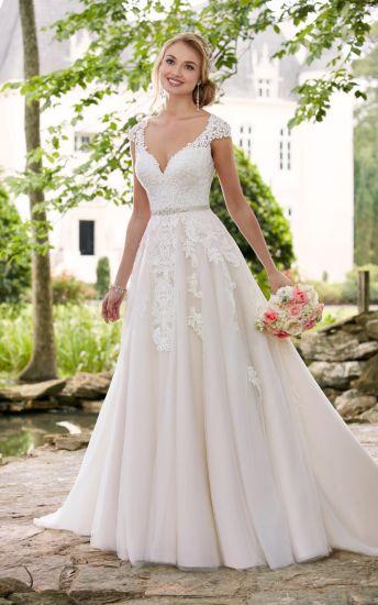 Amelie Rocky 2018 Tulle Bridal A Line Wedding Dress