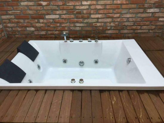 Hot Sales Model Hot Tub for Double Person (517) pictures & photos
