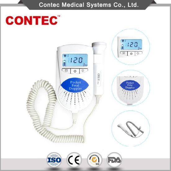 Warranty Contec MIni Fetal Doppler 3MHz Probe Baby Heartbeat Monitor LCD Screen