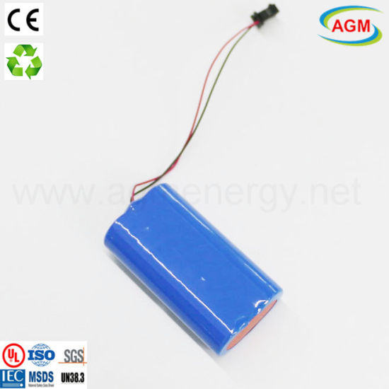 Factorysale Quick L/T 2s1p 7.4V 1800mAh Lithium Battery for MP4