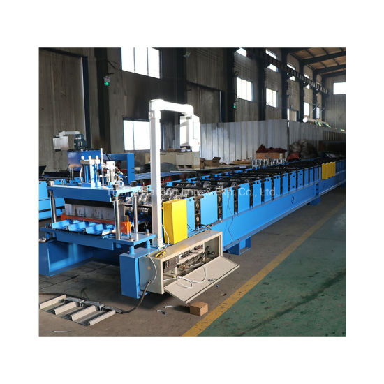 Automatic Metal Roof Trapezoidal Sheet Roll Forming Machine pictures & photos