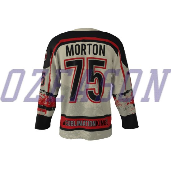 super popular 1e623 a29d2 Wholesale Professional Customized Dye Sublimated Hockey Jerseys Cheap Price  (H024)