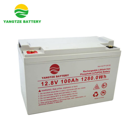 Factory Wholesale LiFePO4 Lithium Ion Battery 12V 100ah with A Grade Cells