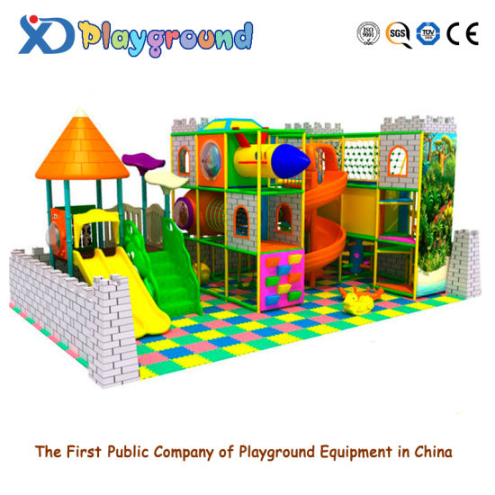 Children Indoor Playground Naughty Castle Plastic Toy (XJ5056) pictures & photos