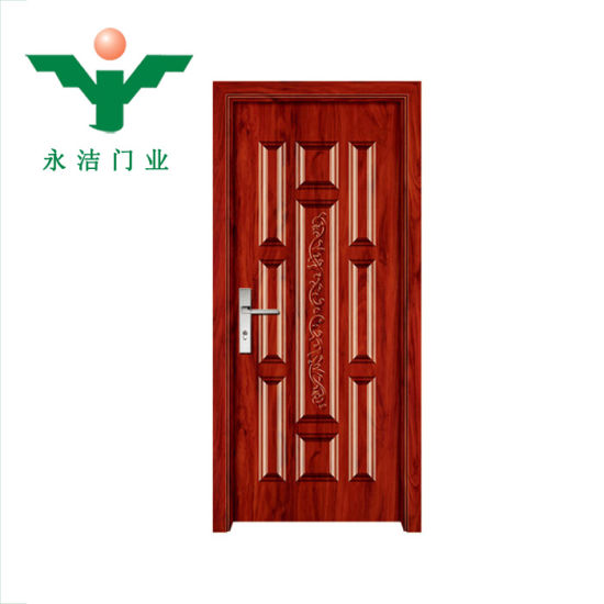 China New Product Top Quality Insulated Interior Melamine Doors With