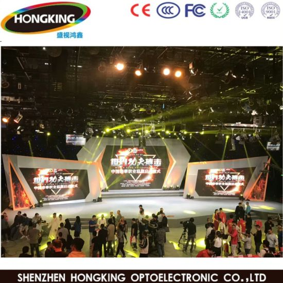 Digital Signage Full Color Indoor LED Display Screen for Stage pictures & photos