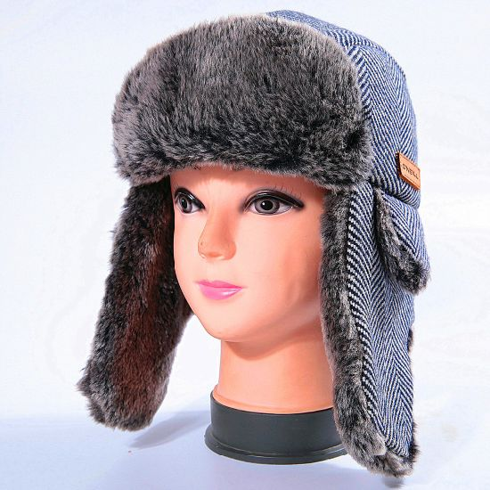 3ab1ef9a3b275 China Custom Cloudy Wool Earflaps Outdoor Caps Winter Hat - China ...