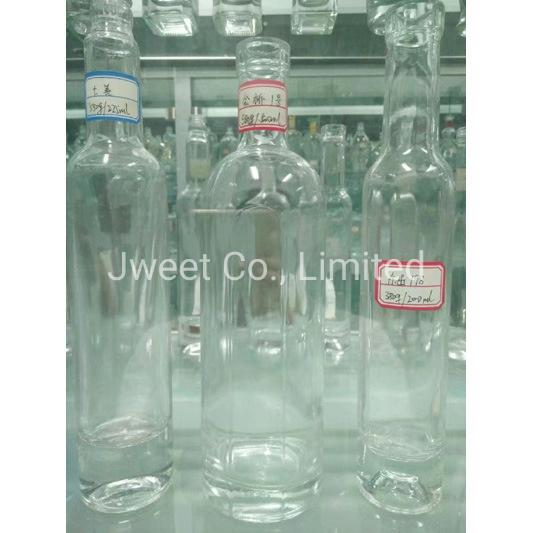 Factory Custom Highly White Clear 1000ml Sake Alcoholic Glass Bottle
