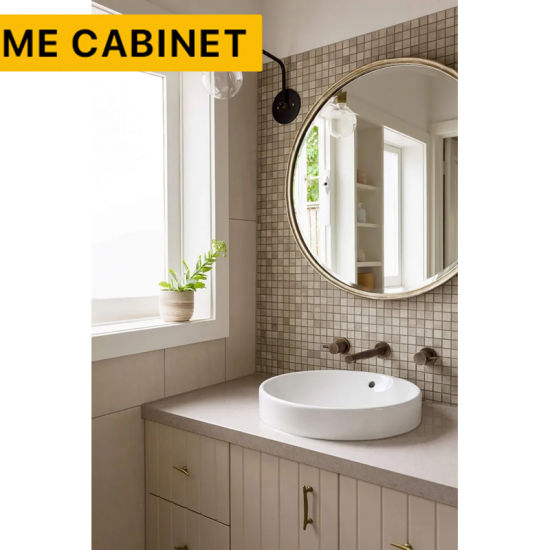 Mecabinet Bathroom Furniture China Manufacturer Traditional Design Style MDF Carcase Material Bathroom Wall Cabinet for Hotel/Home