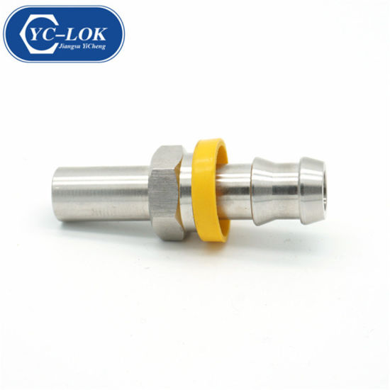 Carbon Steel SAE 100r1/R2 Hydraulic Hose Ferrule Fittings pictures & photos