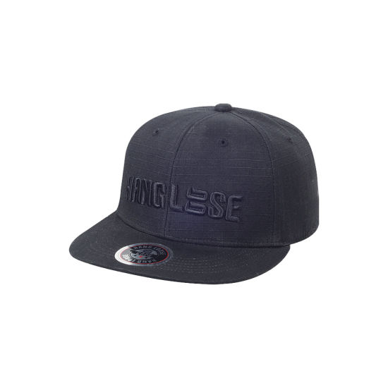 Acrylic 3D Embroidery Cap with Logo Snapback Cap Flat Brim Baseball Cap OEM pictures & photos