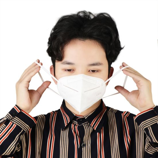 Group Brand Wholesale Disposable KN95/N95 Earloop Dust Face Mask