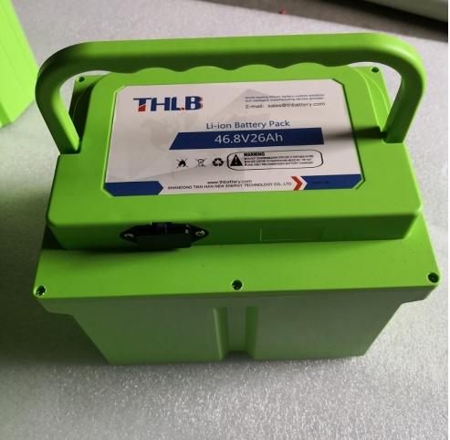 Bis Approved-46.8V26ah Li-ion Battery Pack for Motor Bike