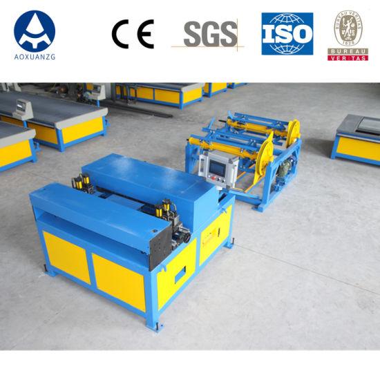 Metal Sheet Ventilation Tube Manufacturing Machine/Production Line/HVAC Duct Manufacture Auto Line