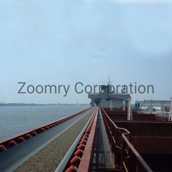 Fast Move Customized Feeding Heavy Duty Flexible Large-Capacity Coal Mining Steel Belt Conveyor