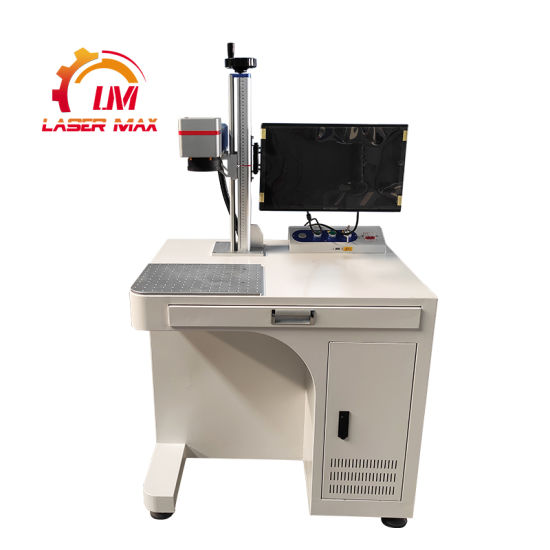OEM/ODM Cabinet 20W 30W 50W Fiber Marking/Engraving/Printing Machine for Metal/No-Metal/Aluminum/Stainless/Copper/Brass/Plastic