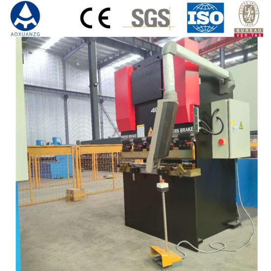 Wc67y/K-40t/1200 Hydraulic Metal Plate Bender Automatic CNC Press Brake Sheet Bender Metal Plate Hydraulic Bending Machine
