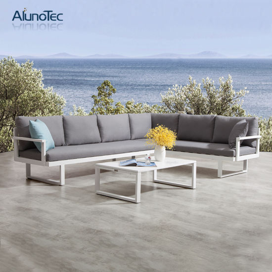 Patio Furniture Garden Modular Sofa Corner Sofa Set Outdoor Furniture