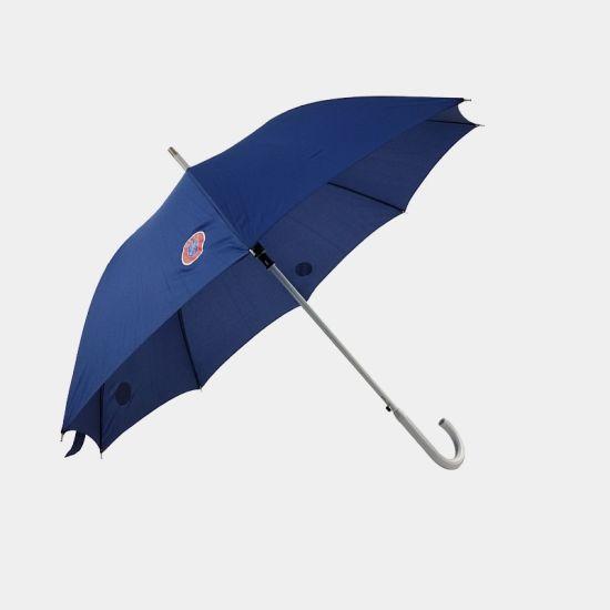 Light Weight Aluminium Custom Logo Straight Umbrella Promotional