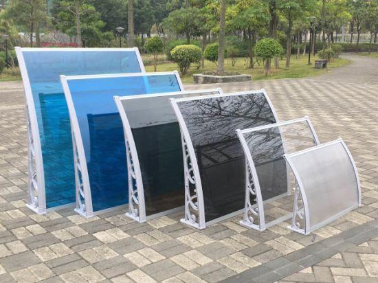UV Protection Plastic Polycarbonate Canopy Balcony Sun Rain Shades & China UV Protection Plastic Polycarbonate Canopy Balcony Sun Rain ...
