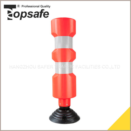 Plastic Spring Back Removable Bollard (S-1407) pictures & photos