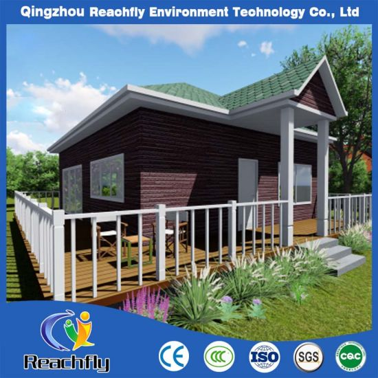 Customized ISO Certificated Luxury Light Steel Prefabricated Villa