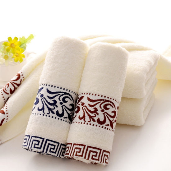 Soft Cheap Bath Towels for 4 Star Hotel pictures & photos