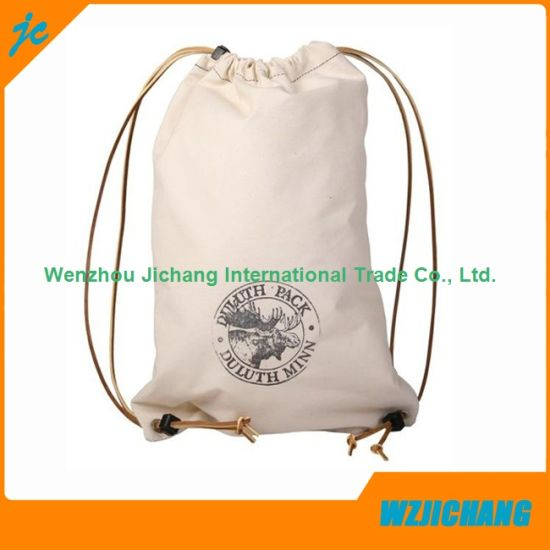 e8e18845247c Accept Custom Order and Drawstring Sealing   Handle Pure White Cotton Bag
