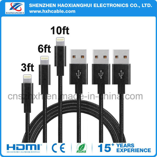 Cellphone Accessories 1m 2.1A Charging Cable pictures & photos