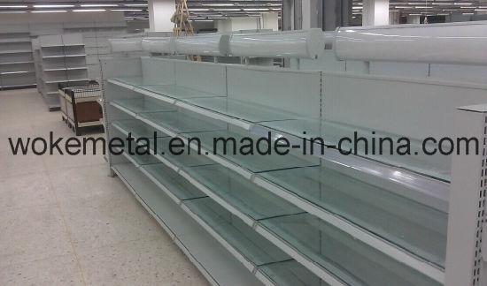 Steel Display Stand Supermarket Shelf