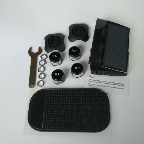 China Wireless Tire Pressure Monitoring System LED Display 4 Sensors
