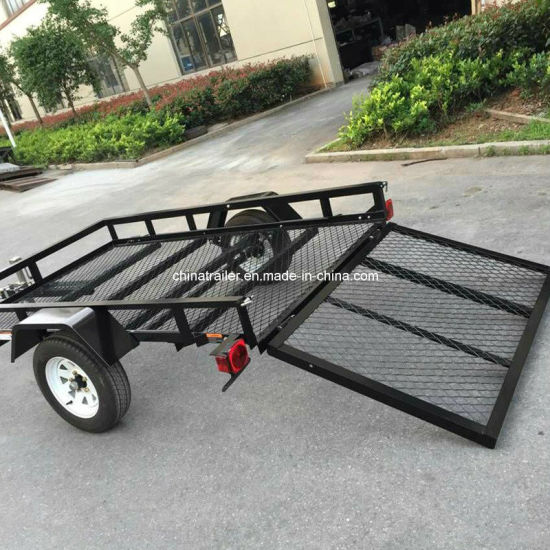 2017 8X5 Powder Coated Utility Trailer for North America pictures & photos