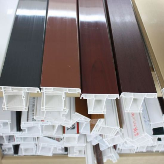 PVC Profile Supplier of Good Quality UPVC Profiles pictures & photos
