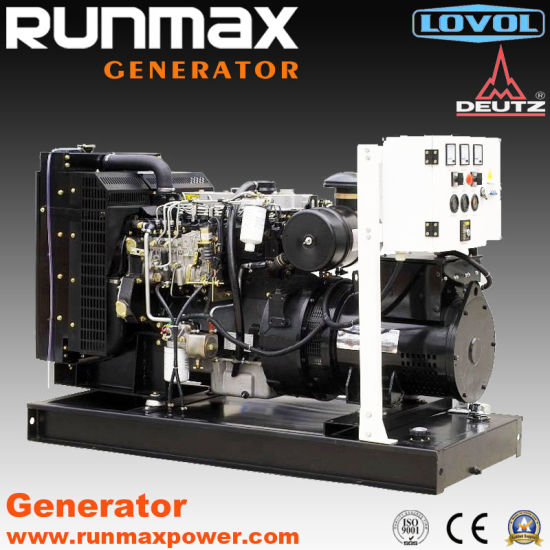 20kVA-180kVA Super Silent Lovol Power Electric Diesel Generator Set/Generating Set (RM128L2) pictures & photos