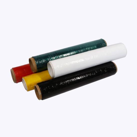 Raw Material LLDPE Stretch Film Transparent Pallet PE Stretch Wrap Film Ym-002