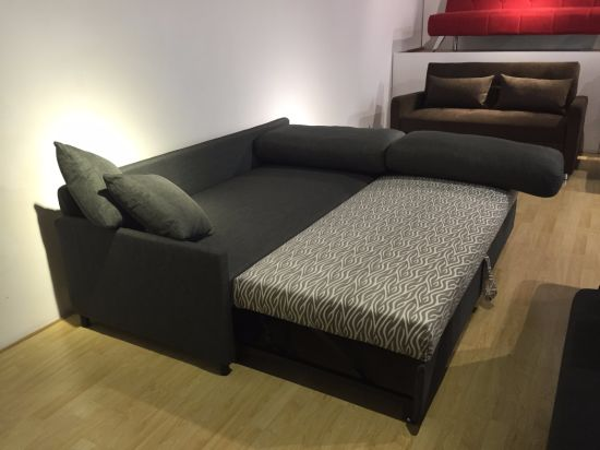 2017 New Design Sofa Cum Bed With Thin Armrest
